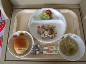 7月27日の給食①